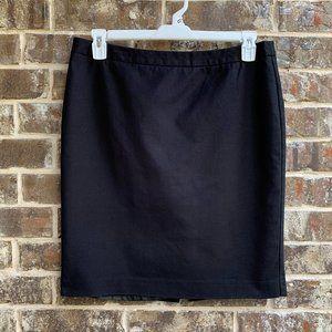 Liz Claiborne Women's Straight Skirt Lined Black